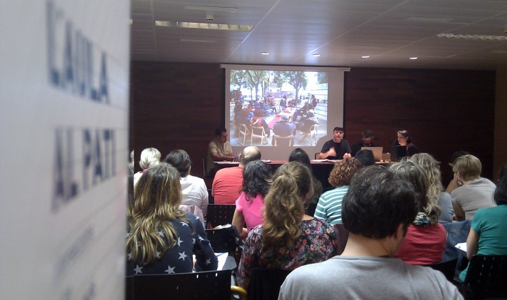 L'Aula al Pati : Jornada ART I EDUCACIÓ, ENCONTRES I DESENCONTRES