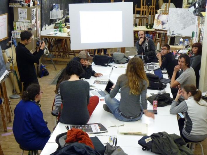 L'Aula al Pati : projecte Recerques: Memòria, creació i participació