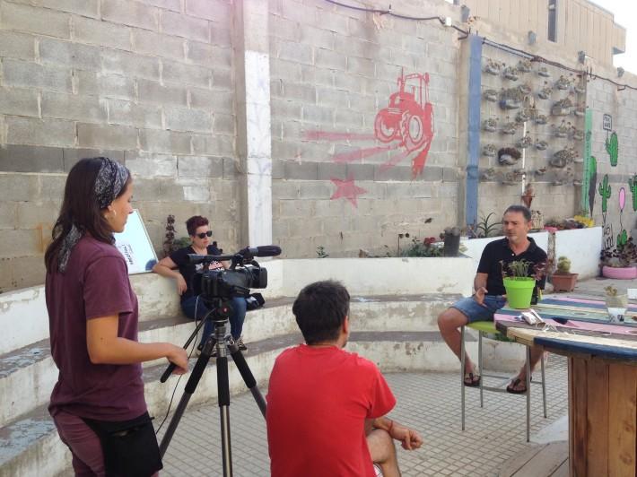 L'Aula al Pati : projecte TV ART